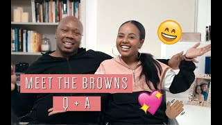 MEET THE BROWNS | GET TO KNOW US TAG | Marv & Bethel Brown
