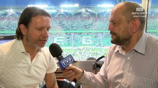 Radosław Majdan: piłkarze Lechii mogą pluć sobie w brodę