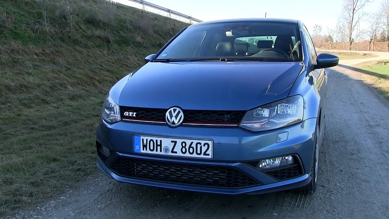 2015 vw polo 1 8 t gti 192 hp test drive youtube. Black Bedroom Furniture Sets. Home Design Ideas
