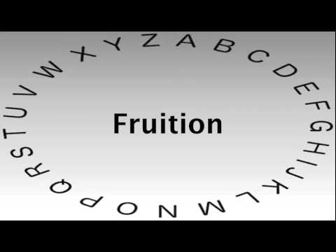 Superb SAT Vocabulary Words And Definitions U2014 Fruition