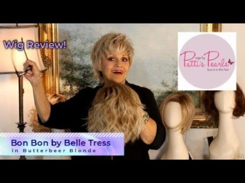 Wig Review:  Bonbon By Belle Tress In Butterbeer Blonde