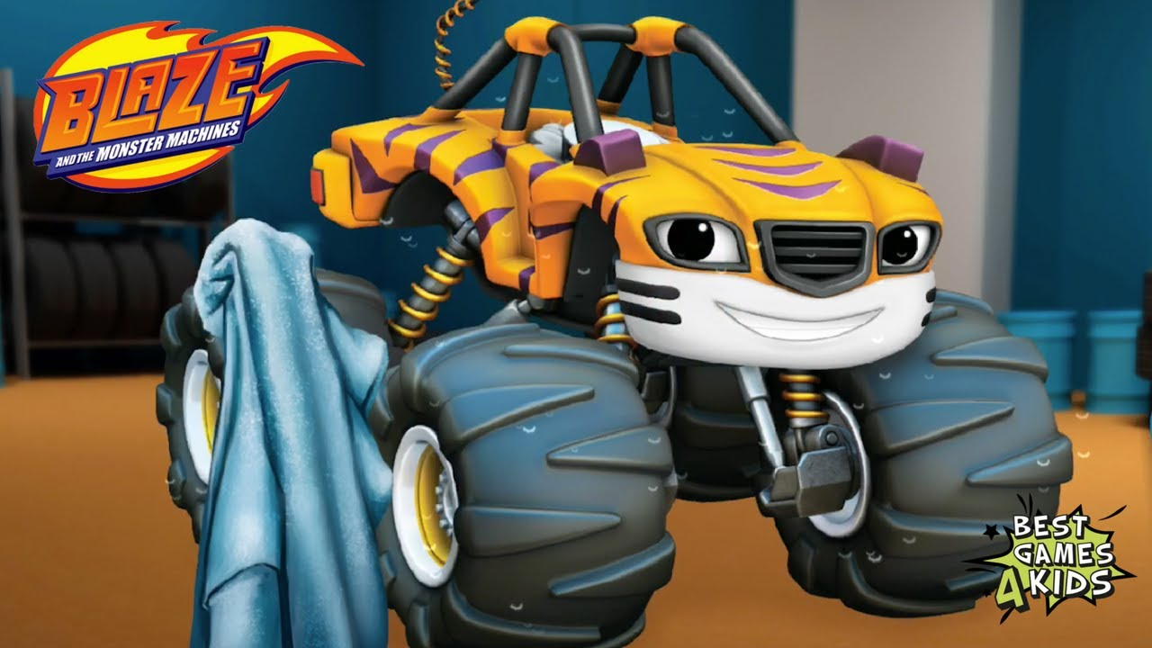 Playtime with blaze and the monster machines hd earn all for Blaze e le mega macchine youtube