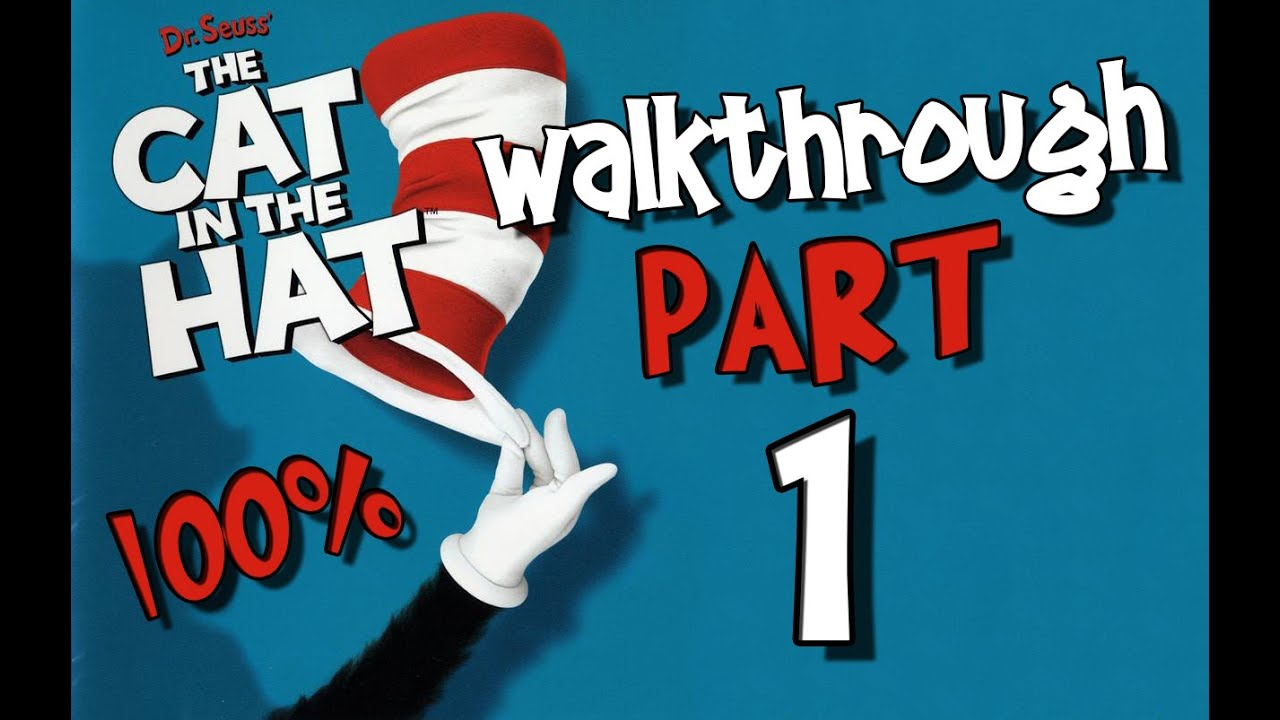 b27a2667 Dr. Seuss' The Cat in the Hat Walkthrough Part 1 (PS2, XBOX, PC) 100% Level  1 - Grandfather Clock