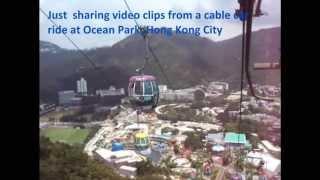 Ocean Park, Cable Car, Hong Kong