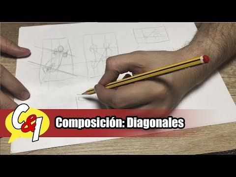 como-empezar-a-dibujar-comics-|-67ª-clase-|-composición-diagonales