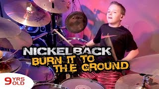 """Burn It to the Ground"" Avery Molek, 9 year old Drummer"