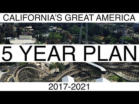 California's Great America 5 Year Plan 2017 -2021 Future Attractions