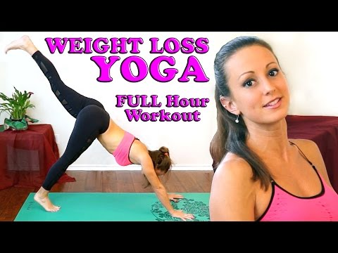 Weight Loss Yoga For Beginners. Full Body At Home 1 Hour Workout &…