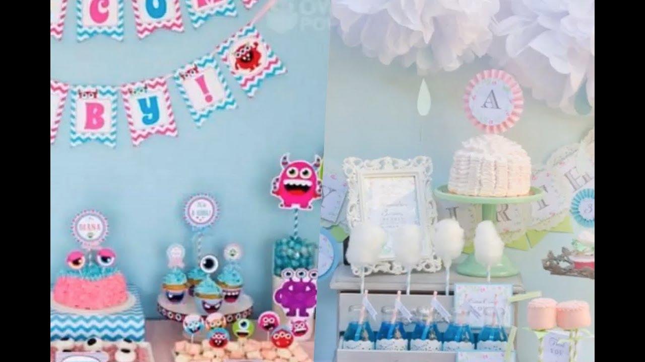 Adornos Para Baby Shower Mixto.Ideas Para Baby Shower Mixto