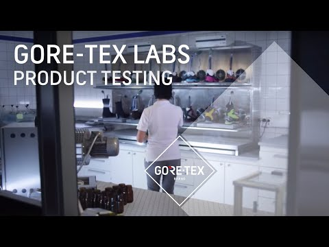 Testing GORE-TEX Products in the Gore Labs