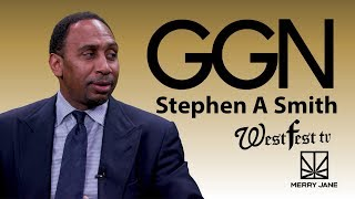 Stephen A. Smith Talks TV Debates and Keeping Athletes Off Weed | GGN News