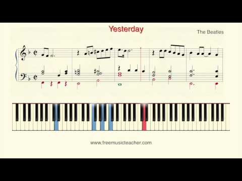 How To Play Piano: The Beatles