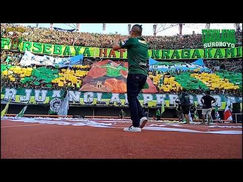Full Koreo 3D PERSEBAYA VS AREMA FC,  TRIBUN KIDUL SUROBOYO