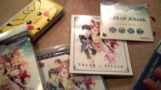 Tales of Xillia Limited Edition PS3 Unboxing TLMB