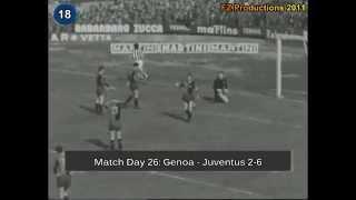 Italian Serie A Top Scorers: 1959-1960 Enrique Omar Sivori (Juventus) 28 goals