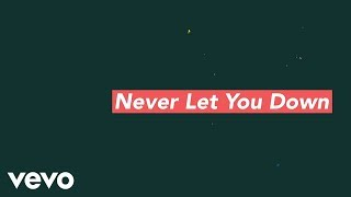hawk nelson never let you down feat hunter and tara official lyric video
