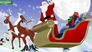 """Мультик про Новый год - СКАЗКА  """"Транспорт Дедушки Мороза"""""""