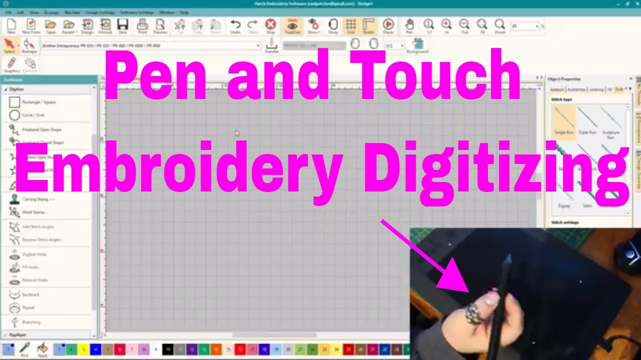 Put Down Your Mouse And Digitize With A Pen Tablet Learn To Digitize Youtube