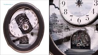 Joyful Homestead II Wall Clock / 4MH421WU02