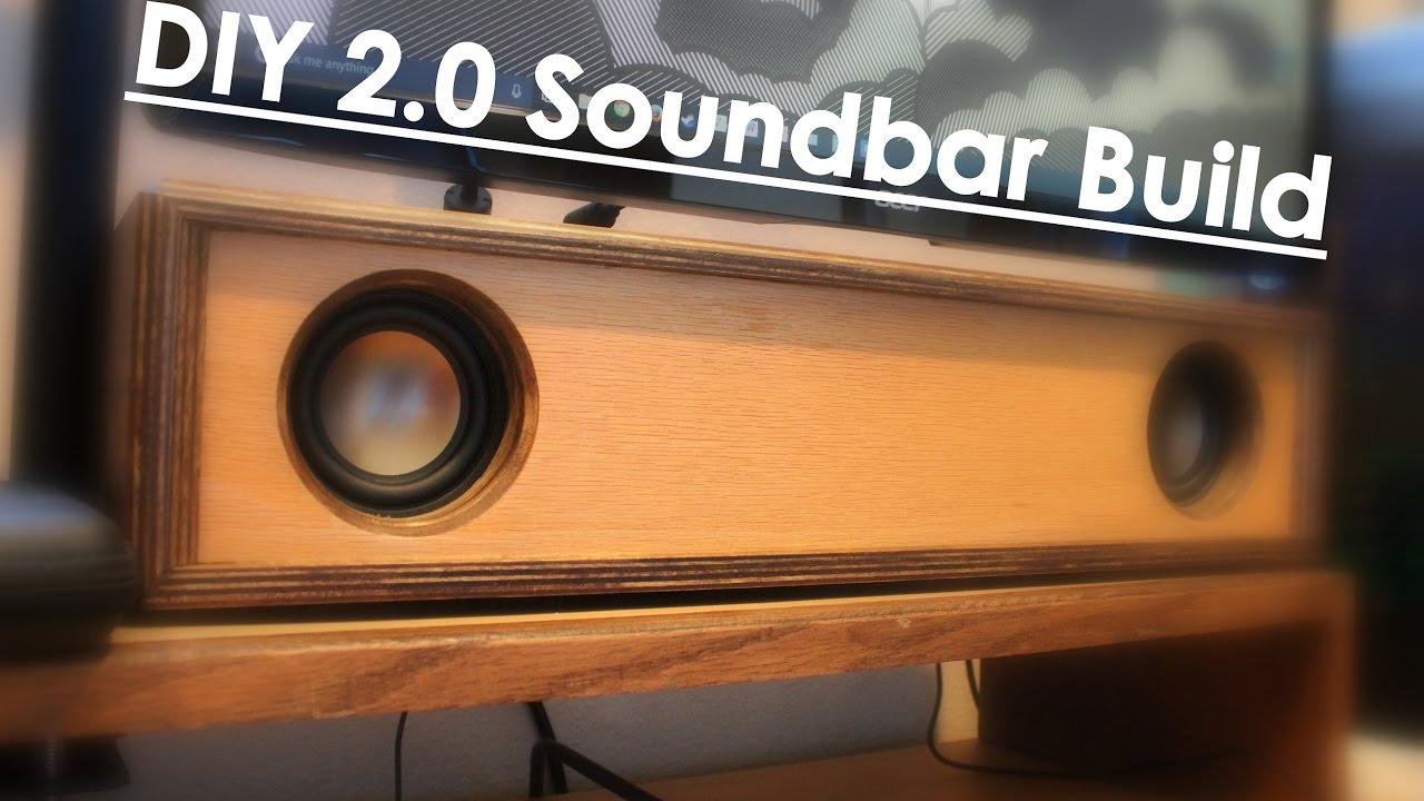 DIY Soundbar Build