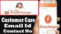 Freecharge Customer Care Number,Helpline Number (no)  Support,Office,Email id