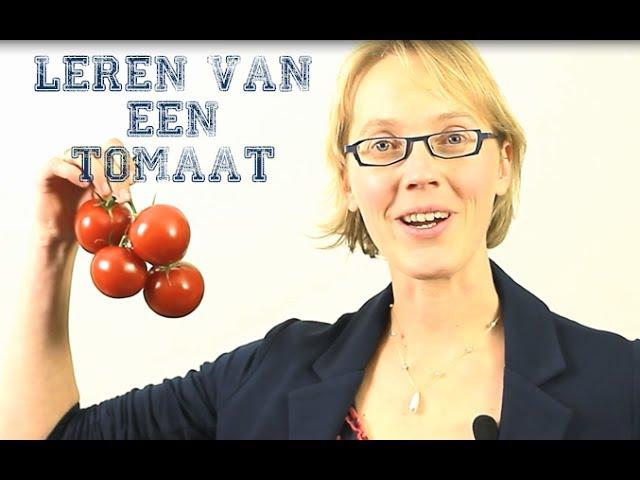 Leren van een tomaat