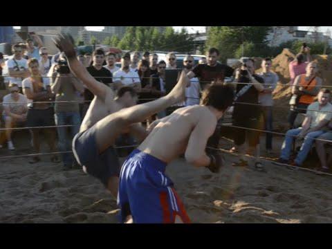 Друг грузчика Ойбека против бойца без правил