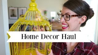 Home Decor Haul | Spring Summer 2016