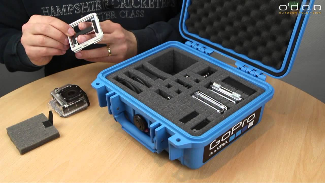 how to get gopro out of case