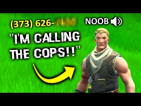 i found his phone number, then... (fortnite)