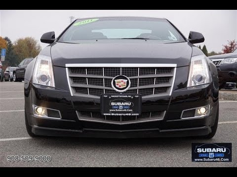 2011 Cadillac Cts 3 6 Coupe Youtube