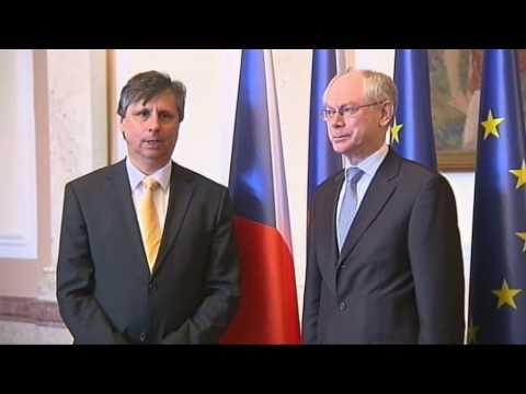 With Czech Prime Minister Jan FISCHER