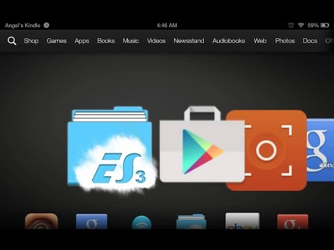 How To Get Google Play Store And Google Play Services on Kindle Fire