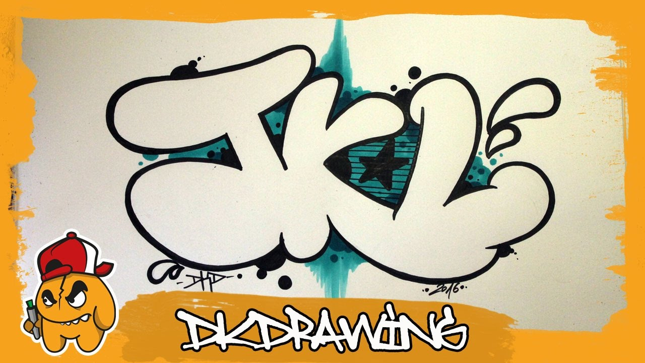 Graffiti Alphabet Tutorial How To Draw Graffiti Bubble Letters J