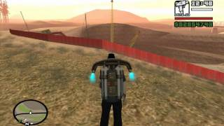 Green Goo (Airstrip Mission #5) - GTA San Andreas - How to get rid of the Jetpack
