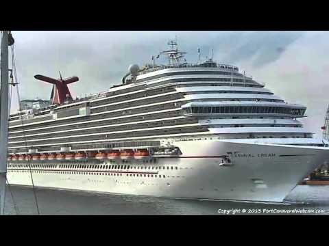 CARNIVAL DREAM Leaves Port Canaveral 03-09-2013