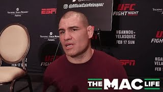 Cain Velasquez talks Cormier/Jones at heavyweight, says it