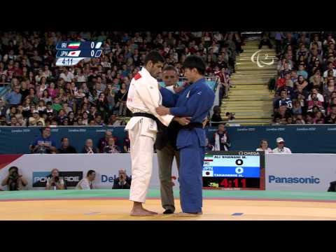 Judo - IRI versus JPN - Men -73 kg Final of Repechage A - London 2012 Paralympic Games