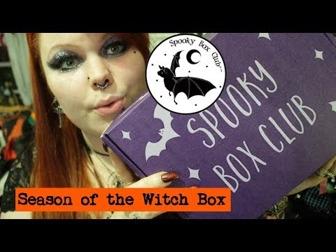 SEASON OF THE WITCH BOX - Spooky Box Club March Unboxing