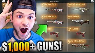 I FOUND MY $1000+ GUN COLLECTION!!