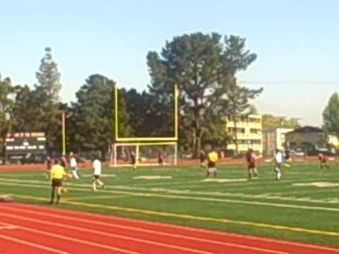 Birds and Soccer Game at Prospect High, Saratoga CA Jack D Deal Publiciidad