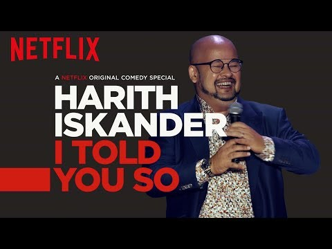 Harith Iskander: I Told You So   Official Trailer [HD]   Netflix from YouTube · Duration:  1 minutes 11 seconds