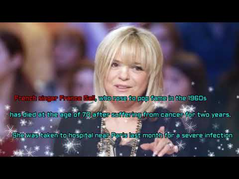France Gall: French singer who inspired My Way dies age 70