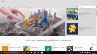 Windows 8.1 Look at the Beta version of Microsoft Store for Windows 10