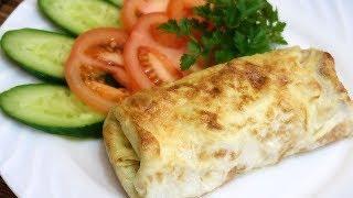 Бризоль с курицей и сыром в духовке Вкусный обед для всей семьи