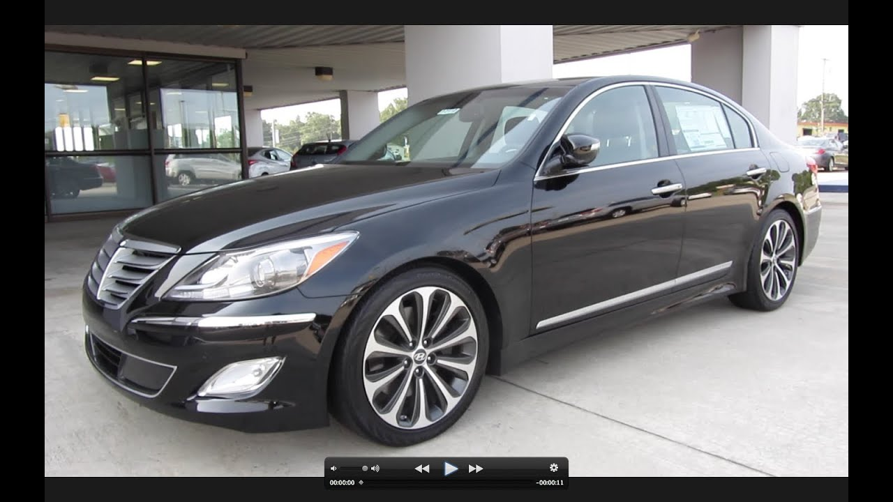 2012 Hyundai Genesis 5 0 R Spec Start Up Exhaust And In Depth Tour Youtube