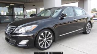 2012 Hyundai Genesis 5.0 R Spec Start Up, Exhaust, and In Depth Tour