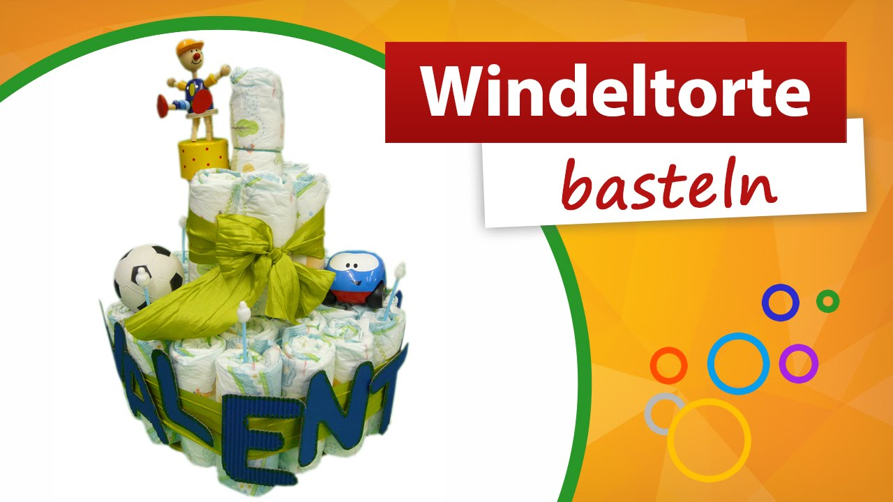 Windeltorte Basteln Do It Yourself Trendmarkt24 Babygeschenk