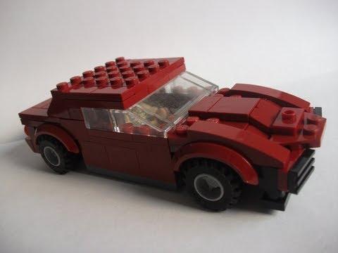 Corvette Stingray 1969 >> How to make a Lego Corvette Stingray (1969) - YouTube