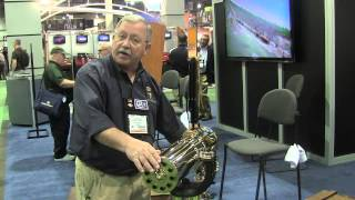 Colt Model 1877 Bulldog Gatling Gun At The 2015 Shot Show